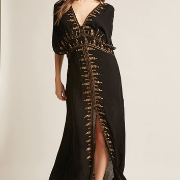 Z&L Europe Sequined Maxi Dress
