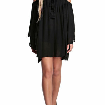 Evangeline Cold Shoulder Dress