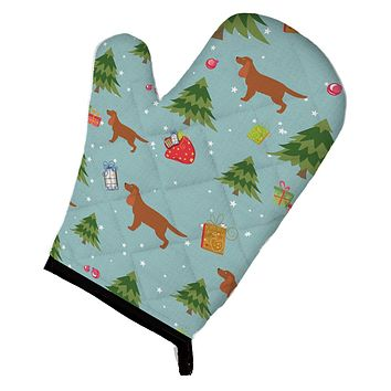 Christmas English Cocker Spaniel Oven Mitt BB4836OVMT