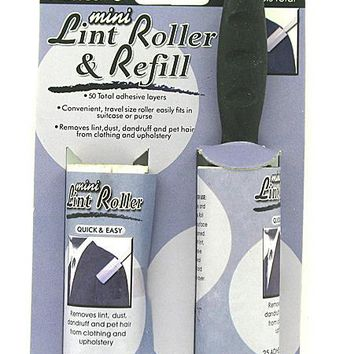 Mini Lint Roller & Refill ( Case of 96 )