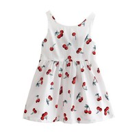 kacakid Baby Girls Cotton Vest Dress Kids Sundress Princess Shirt Dresses - Walmart.com