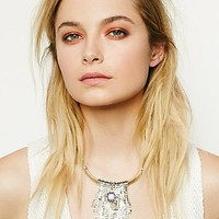 Free People Native Rain Chainmail Necklace
