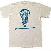 Lax Surf Pure White Tee