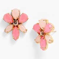 kate spade new york 'gardens of paris' oversize stud earrings