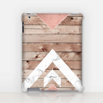 Wood Marble iPad Case For - iPad 2, iPad 3, iPad 4 - iPad Mini - iPad Air