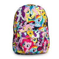 My Little Pony Multi Character Backpack