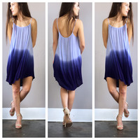 A Blue Dreams Ombre Dress