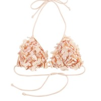 Aerie Roses Triangle Bikini Top | Aerie for American Eagle