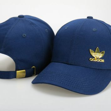 Retro Cool Adidas Logo Embroidered Outdoor Baseball Cap