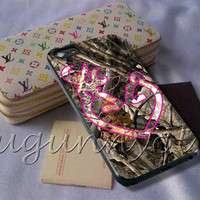 Love Browning Deer Camo Pink Cover - iPhone 4 4S iPhone 5 5S 5C and Samsung Galaxy S3 S4 S5 Case