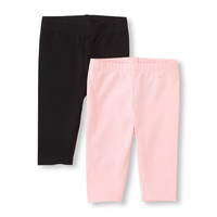 Baby And Toddler Girls Capri Leggings 2-Pack | The Children's Place