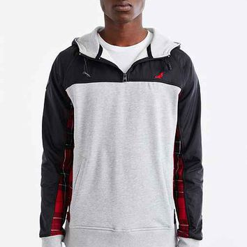 Staple Neston Pullover Hooded Sweatshirt- Grey
