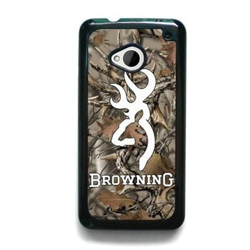 CAMO BROWNING HTC One M7 Case Cover
