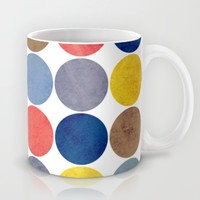 Round and Round Mug by Miss L In Art