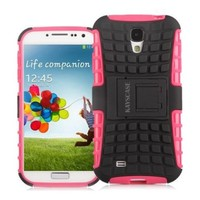 KAYSCASE ArmorBox Cover Case for Samsung Galaxy S4 SIV S IV Smart Phone (PINK)