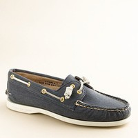 Women's the vacation shop - shoes - Sperry Top-Sider?- Authentic Original 2-eye boat shoes in twill - J.Crew