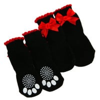Material Girl™ Pets Ribbon Socks