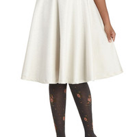 ModCloth Vintage Inspired Long Ballerina As Simple As It Sheens Skirt