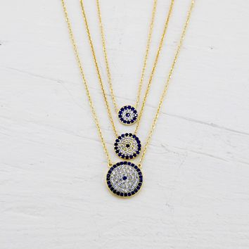 Shop Evil Eye Necklace on Wanelo 6910abe1b8