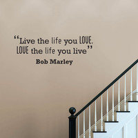 Love Motivational Quote Wall Sticker