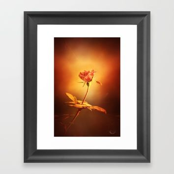 Deja Vu Framed Art Print by Theresa Campbell D'August Art