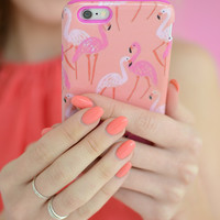 Flocking Flamingo Case - iPhone 6