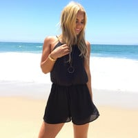 Most Wanted Romper In Black