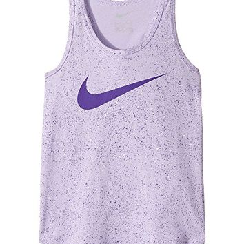 Nike Kids Blacktop All Over Print A-Line Tank Top (Little Kids)