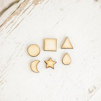 Natural wood Lasercut woood Jewelry making wood Jewelry finding Unfinished wood Wooden craft supply Diy craft projects