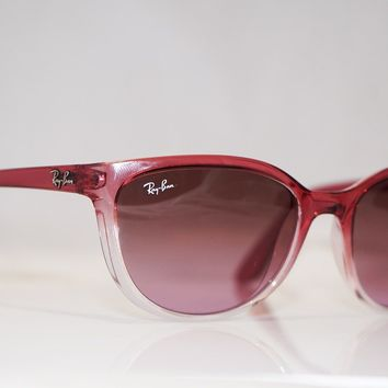 RAY-BAN Womens Designer Sunglasses Red Cat Eye RB 4167 849/14 16795