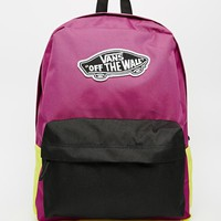 Vans Realm Backpack in Colourblock