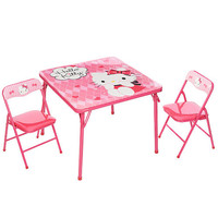 Hello Kitty Little Miss Sassy Activity Table and Chairs Set