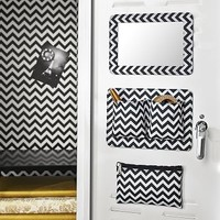 Locker Beauty Bundle, Black Chevron