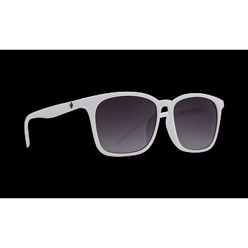 Spy - Cooler 55mm White Sunglasses / Navy Fade Lenses