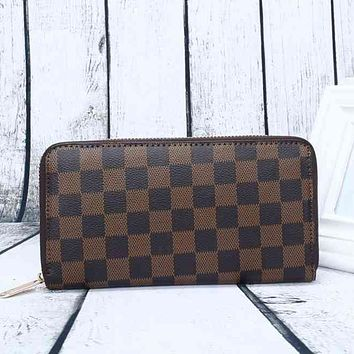 Louis Vuitton LV Classic Women Leather Print High Quality Wallet Purse
