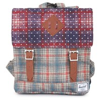 Plaid Survey Kids Backpack