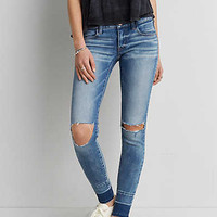AEO Denim X Super Low Jegging, Let It Go