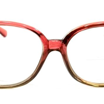 Women Bifocal Reading Glasses Retro Lovable Style Large Frame Readers
