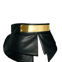 ASOS | ASOS Peplum Plate Detail Waist Belt at ASOS
