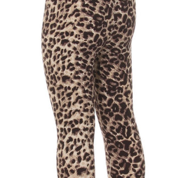 Children's Printed Leggings Cheetah