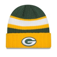Green Bay Packers New Era NFL Rib Start Cuff Knit Beanie
