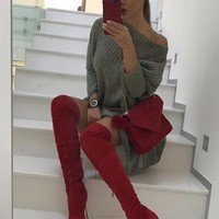 Knee High Betty Boots
