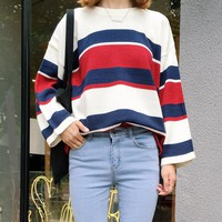 COLLEGE WIND SWEATER