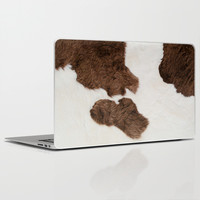 Cow Texture Laptop & iPad Skin by cafelab