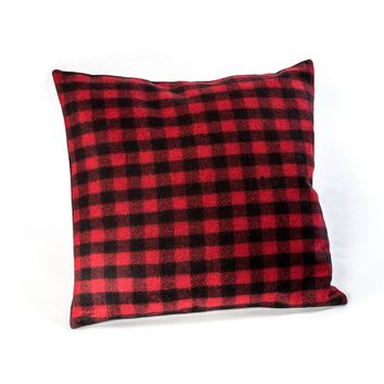 "18""X18""BUFFALO CHECK PILLOW"
