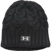 Under Armour Women's Around Town Beanie, One Size, Black