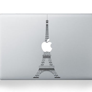 Eiffel Tower----Mac decal Macbook Decals Macbook Stickers Macbook Pro decals Macbook Air decals Vinyl decal for Apple Mac iPad iPhone