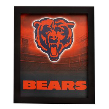Chicago Bears Sign Light Up Wall Style