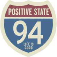 Positive State 94 Sticker|Life is good