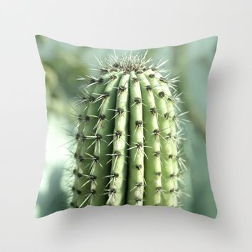 Cactus  Throw Pillow by VanessaGF